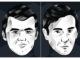 Official website pop-art images of Carlsen and Karjakin