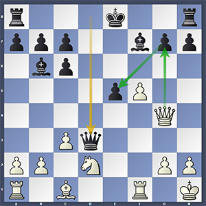 Adams-Topalov, after 16...Qd3?