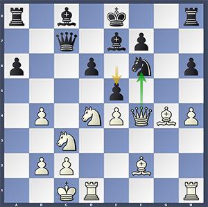 Caruana-Nakamura, after 18...e5.