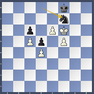 Nakamura-Kramnik, after 58...Nf7! Black draws.