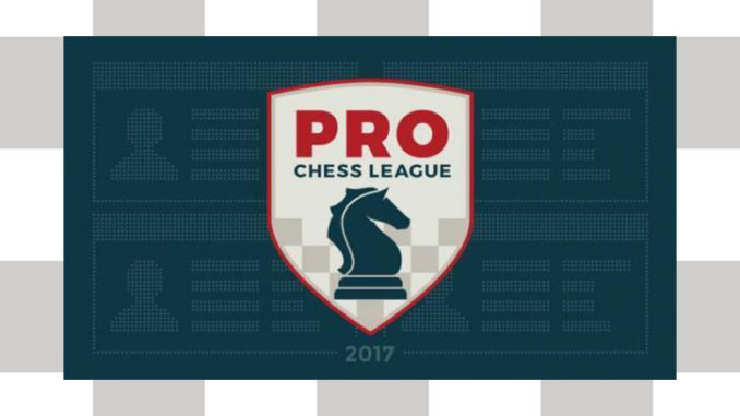 Chess Pro League Banner with logo