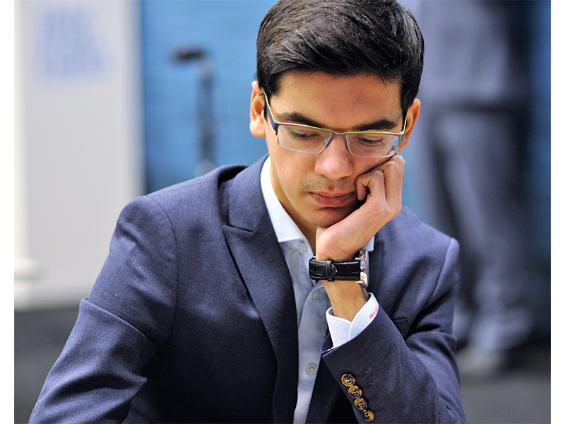 Photo of Anish Giri