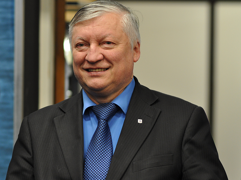 Photo of Anatoly Karpov