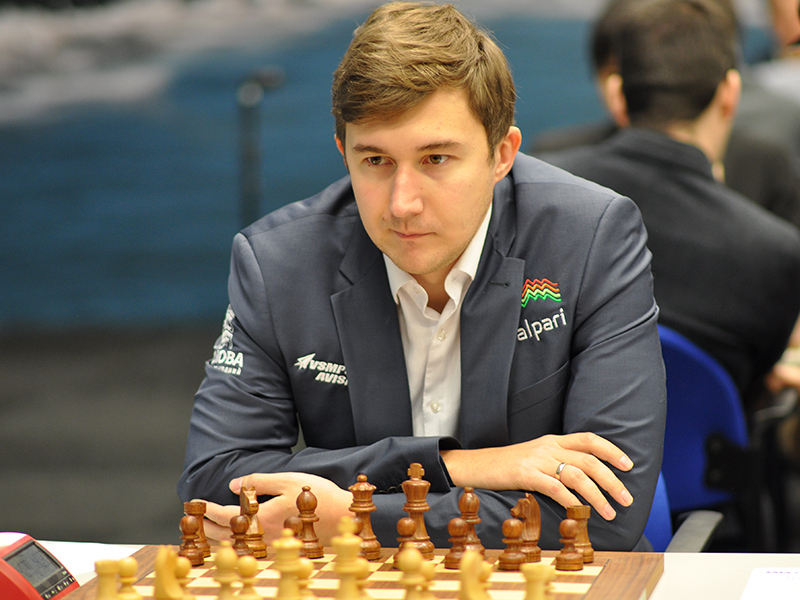 Photo of Sergey Karjakin
