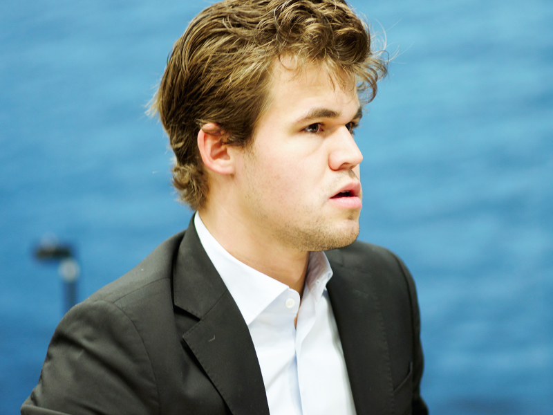 Photo of Magnus Carlsen