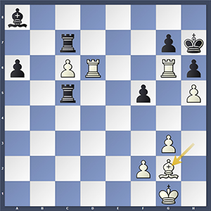 Mamedyarov vs Tomashevsky, final position.