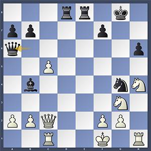 Romain vs Nakamura, after 27...Qa7+ winning.