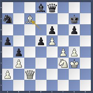 Shankland vs Stefanova, after 46.Bc7.