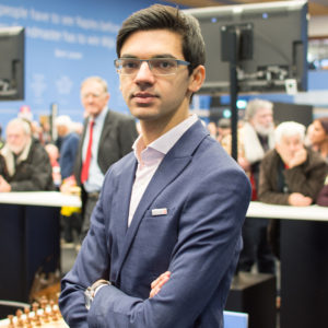 Anish Giri knows that he is carrying the hopes of the home crowd on his shoulders at this tournament. Photograph by John Lee Shaw © www.hotoffthechess.com