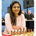 Harika Dronavalli at the 2018 Tata Steel Chess Tournament | © Hot Off The Chess, http://www.hotoffthechess.com