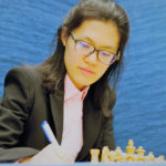 Hou Yifan at the 2018 Tata Steel Chess Tournament | © Hot Off The Chess, http://www.hotoffthechess.com